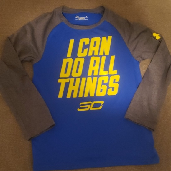 879cdc943 Under Armour Shirts & Tops | Boys Size 6 Underarmour Steph Curry ...